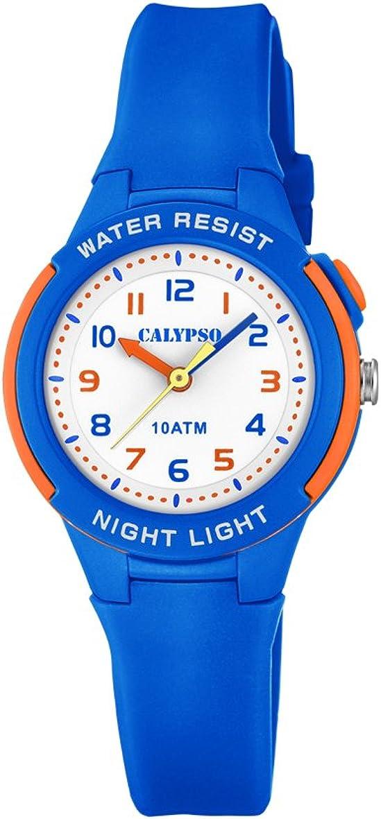 Calypso Reloj Analógico para Unisex Niños de Cuarzo con Correa en Plástico K6069/3