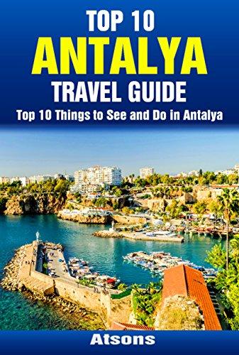 Antalya map tourist attractions antalya tourist map antalya turkey.