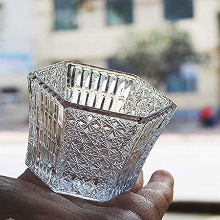 TQJ Botella de Whisky con Vaso Whisky Tasting Glass Hecho a Mano Whisky Pequeñas Copas de Vino y espíritu Gafas Adecuado para Bares caseros Regalo Elegante único Botella de Whisky Regalo