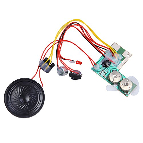 (Recordable Sound Chips,Vanpower 10sec Voice Recordable Module Music Sound Chip for Greeting Talk Gift Card)