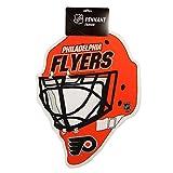 Philadelphia Flyers Official NHL 15 inch x 12 inch Helmet Die Cut Pennant by Rico Industries 222475