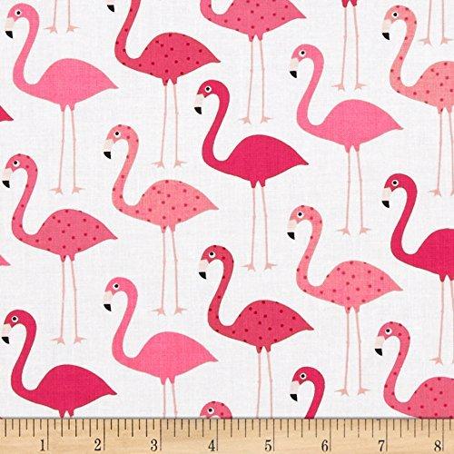 Robert Kaufman Urban Zoologie s, Flamingo (Fabric Flamingo)