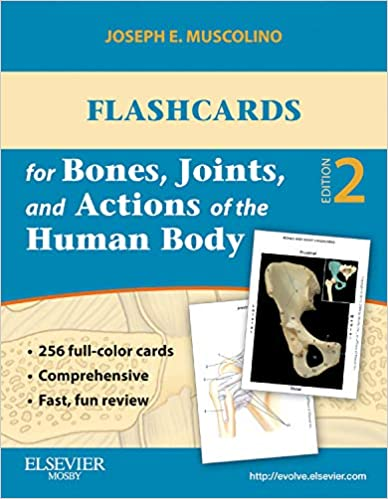 Flashcards for Bones, Joints, and Actions of the Human Body