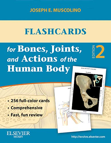 Flashcards for Bones, Joints, and Actions of the Human Body-1st edition