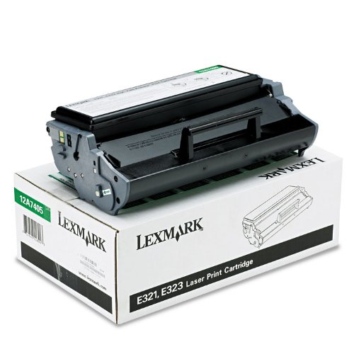 12A7405 High-Yield Toner, 6000 Page-Yield, Black, Sold as 1 Each ()
