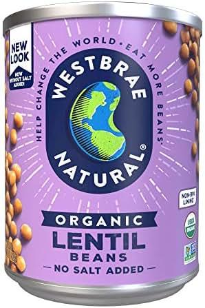 Beans: Westbrae Natural Organic Lentil Beans