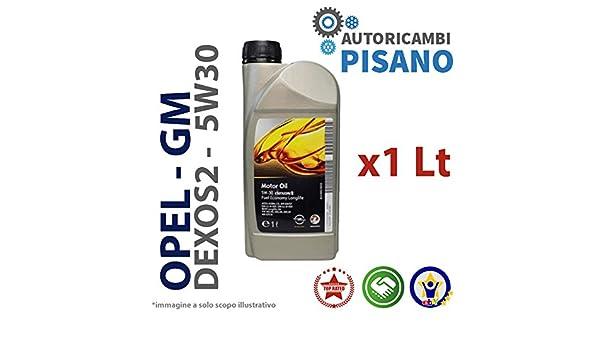 Aceite de motor Opel, GM 5 W-30 dexos 2, larga duración 4 lts (4 x 1 Lt latas): Amazon.es: Coche y moto