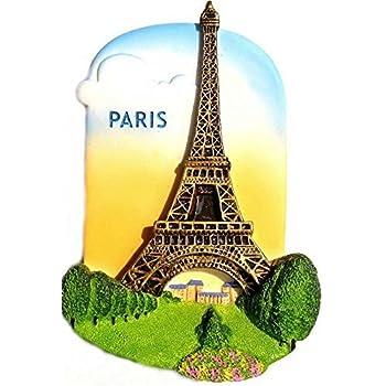 Eiffel Tower Paris France, High Quality Resin 3d Fridge Magnet