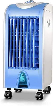 Opinión sobre CHY Enfriador de Aire portátil de 3 velocidades para Oficina, pequeño Ventilador de la Torre del hogar Solo Tipo frío Aire Acondicionado Ventilador Enfriador de Aire
