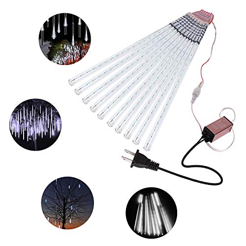 360 Led White Icicle Light Set
