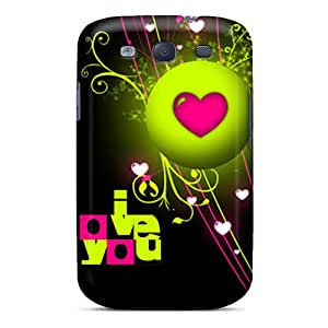 Durable Love Back Case/cover For Galaxy S3