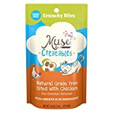 Muse By Purina Creatables Crunchy Bites Natural With Chicken Plus Essential Nutrients Dry Cat Food Complement – (10) 2.46 Oz. Pouches