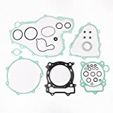 Complete Tusk Gasket Kit Top & Bottom End Set For Yamaha YFZ450 YFZ 450 2004-2009 By Mopasen