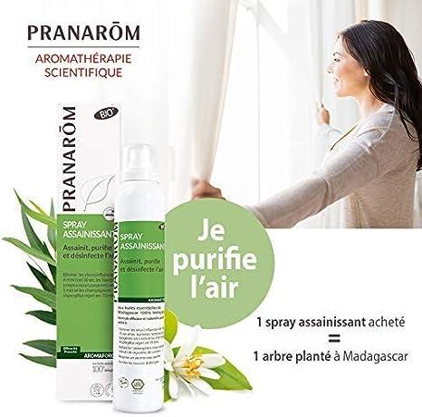 Pranarom Spray Purificador - Desinfecta, Purifica y Sanea E 100 g: Amazon.es: Belleza