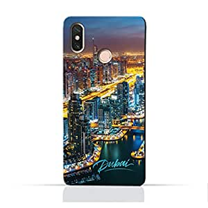 AMC Design Xiaomi Mi Mix 2S TPU Silicone Protective Case with Dubai Marina Design
