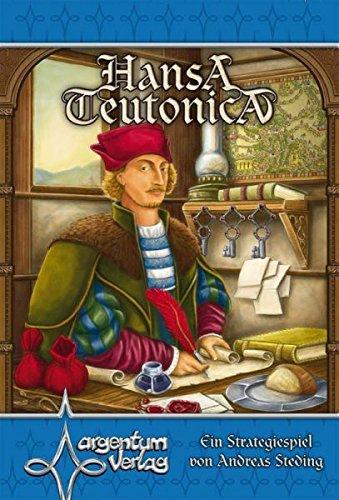 Argentum 0018 - Hansa Teutonica - Ein Strategiespiel von Andreas Steding