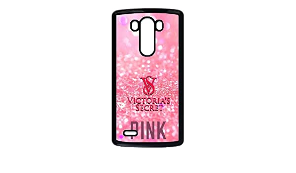 Victoria Secret Pink Brand Logo For LG G3 Black Cell Phone Case Cover 14B1288842: Amazon.es: Electrónica