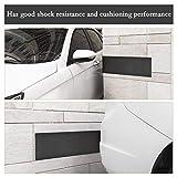 QLOUNI Garage Wall Protector,Ultra Thick Waterproof Garage Door Protector Self Adhesive Foam Strip Garage Wall Guard-Pack of Two