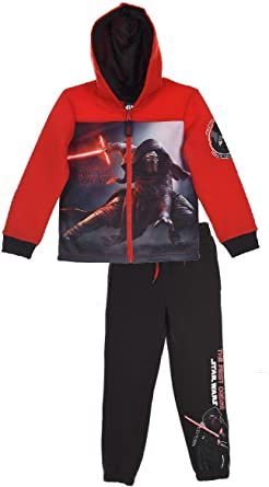 Star Wars - Chándal - para niño Rojo 4 años: Amazon.es: Ropa y ...