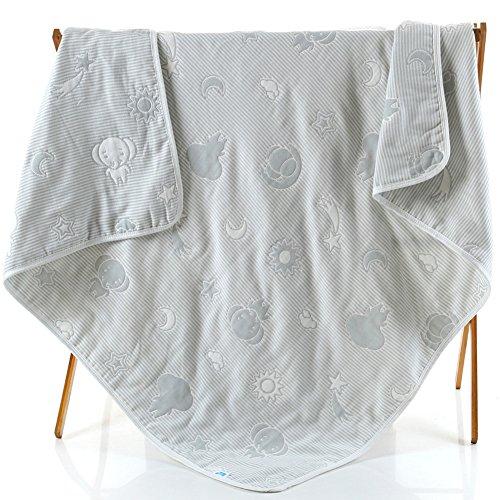 crib quilt gray - 3