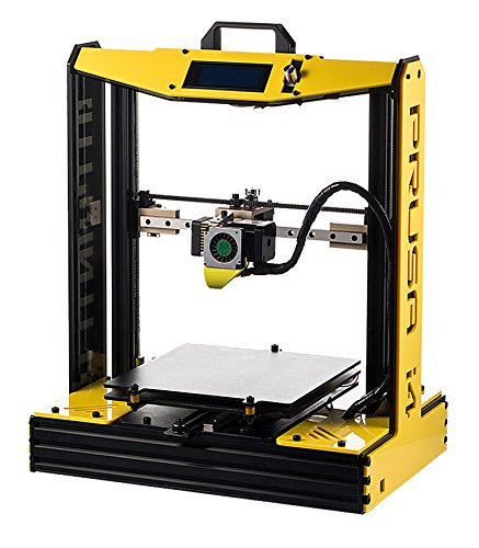2016 High Precision Semi-Assembled impresora 3D Printer Reprap Aluminium Frame Big Machine PLA/ABS Prusa i4 DIY Kit mk8 extruder guangdong Printers