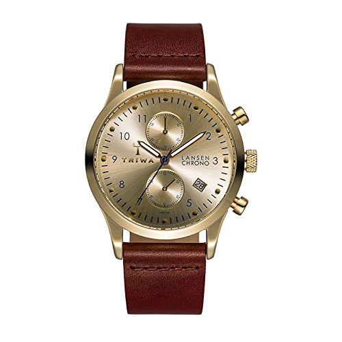 Triwa Watch - Lansen Chrono - Gold Navy