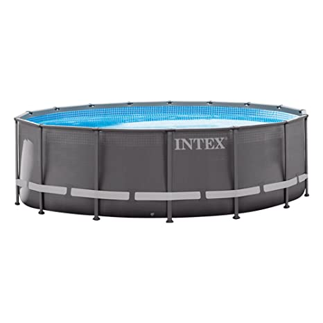 Intex 26324NP - Piscina desmontable Ultra Frame 488 x 122 cm, 19.156 litros