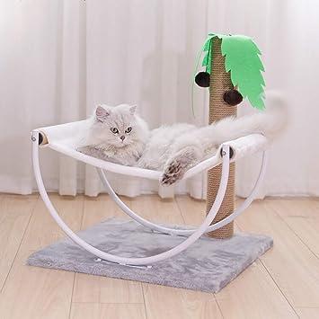 AB pet nest Mascota Nido pequeño Gato Escalada Marco Simple Hamaca de Madera Gato árbol Gato