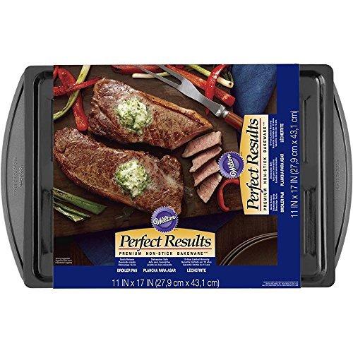 Wilton 2105-6979 Perfect Results 11x17 Broiler Pan