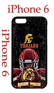 USC Trojans iphone 4 4s Case Hard Silicone Case