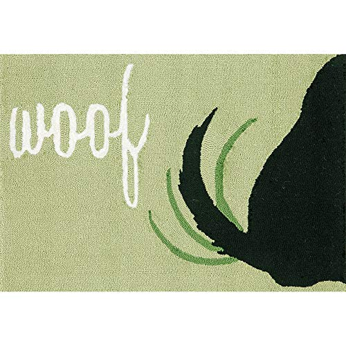 Liora Manne FT123A50406 Whimsy Shaking Tail Rug, Indoor/Outdoor, 24