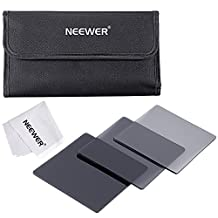 Neewer® Complete Neutral Density Filter Kit for Cokin P Series Filter System