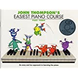 John Thompson's Easiest Piano Course: Part Three (Book And CD) - Partitions, CD