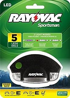 Rayovac Sportsman 7 Lumen 2CR2032 5-LED Blood Tracking Hat Clip Light with Batteries ( & Rayovac Sportsman 18 Lumen 3AAA 6-LED Blood Tracking Flashlight ... azcodes.com