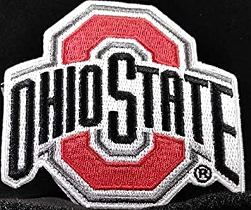 Ohio State Buckeyes Iron on patch embroidered badge emblem applique Lot of 6 pcs