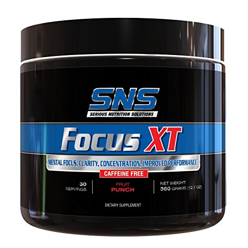 Serious Nutrition Solution Focus XT Caffeine Free Diet Supplement, Fruit Punch, 354 Gram