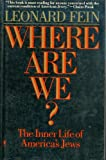 img - for Where Are We?: The Inner Life of America's Jews book / textbook / text book