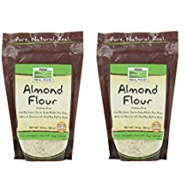 Almond Flour, 10 oz by Now Foods (Pack of 2)