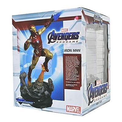 DIAMOND SELECT TOYS Marvel Gallery: Avengers Endgame Iron Man Mk85 PVC Figure, Multicolor: Toys & Games