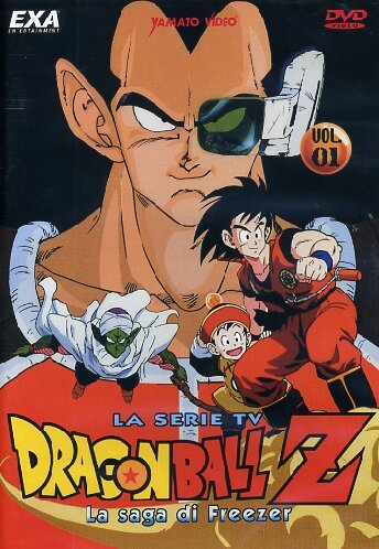 dragon ball z la saga di freezer 01 dvd Italian Import (Dragon Ball Z La Saga De Freezer)