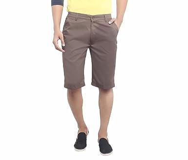 ASHDAN Men's Cotton Blend Regular Fit Shorts Men's Shorts at amazon