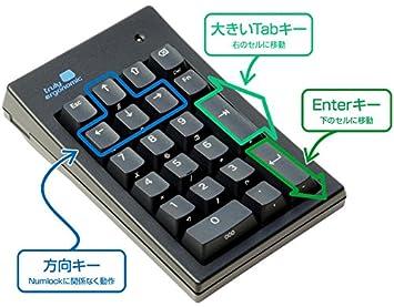 amazon truly ergonomic mechanical numeric keypad for data entry