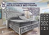 Sven & Son Split King Adjustable Bed Base Frame
