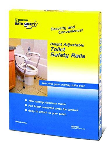 UPC 754756150402, Essential Medical Supply Adj Toilet Safety Rails Full Color Box