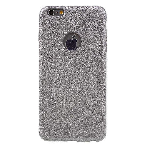 Sand-like Electroplating TPU Phone Tasche Hüllen Schutzhülle - Case für iPhone 6s Plus / 6 Plus - Grey