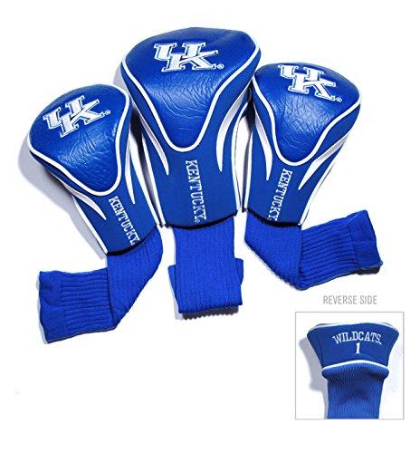 - Team Golf USA University of Kentucky Wildcats 3 Pack Contour Headcover (Team