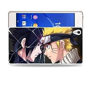 Case88 Designs Naruto Naruto & Sasuke Protective Snap-on Hard Back Case Cover for Sony Xperia Z3