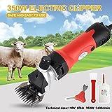 Electrical Sheep Clipper/Wool Shearing Machine Sheep Shears Farm Electric Sheep Goat Clipper Kit Animal Shaver 350W
