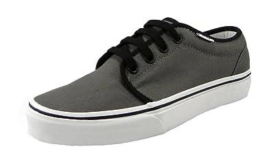 fd72e76fac Vans Men s Sneakers 106 Vulcanized Skate Shoes Pewter (Gray) Black White  (3.5