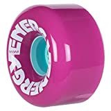 Riedell Radar Energy Wheels 65mm (Set of 4) (Neon Purple 78a)